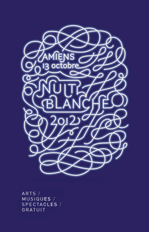 Nuit blanche à Amiens